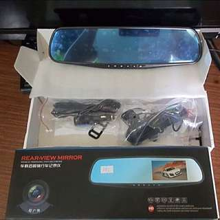 Car DVD Mirror Dash Cam