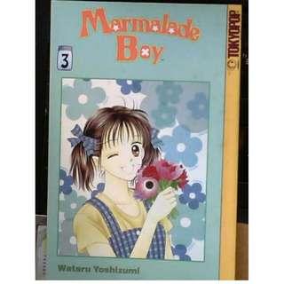 English US Marmalade Boy Vol 3 Tokyopop Japanese Manga Comics
