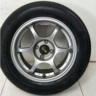 15 '' Sport Rim With Tyre 4x100 (SR753)