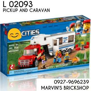 For Sale Latest Pickup Caravan Building Blocks Toy