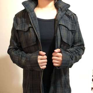 RVCA Plaid Winter Jacket / Coat