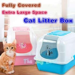 Litter Box - Fully Covered