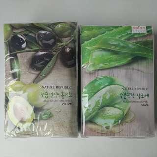 KOREAN FACE MASK (NATURE REPUBLIC)