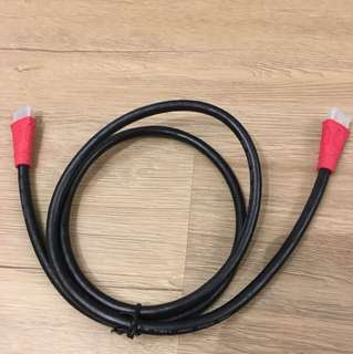 Gold tip HDMI cable for TV