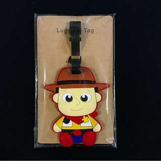 Toy Story Luggage Tag. 反斗奇兵行李牌.