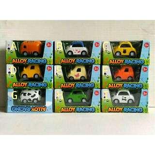 Tsum Tsum Mini Die-cast Pullback Cars