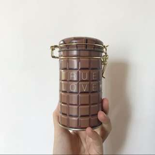 🈹New True Love chocolate tin 真愛朱古力罐密封瓶