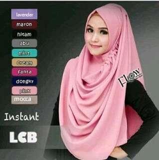 ALF - 0218 - Kerudung Hijab Instant LCB Instant