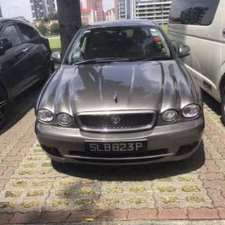 Jaguar X Type 2.0 for rent
