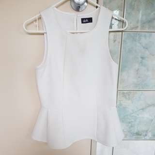 Dress top size S