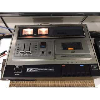 Retro vintage JVC cassette tape deck 1973 audiophile stereophile CDM4