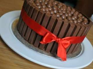 Moist Chocolate KitKat Cake