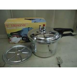 Pressure Cooker Besar 12 Liter Panci Presto Aluminium Trisonic