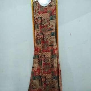 long drees batik