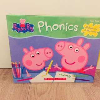 全新正版Peppa Pig Phonics workbook