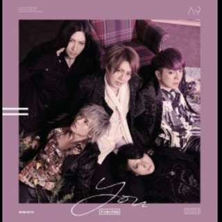 A9 (Alice Nine) F+IX=YOU single version A