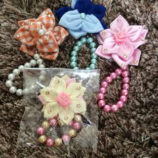 Handmade blossom dangling