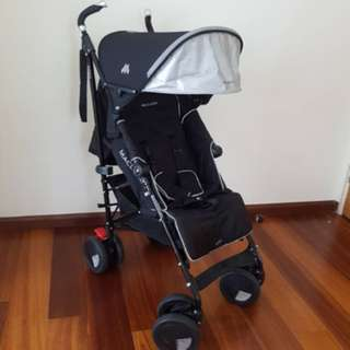 Almost like new MacLaren stroller