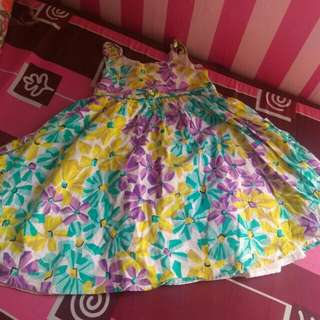 Floral Dress balloon style
