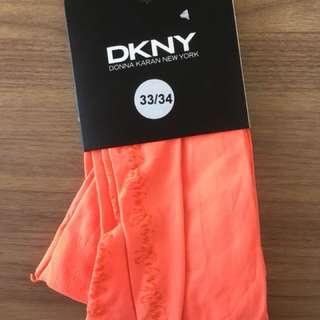 ORIGINAL DKNY Orange Leggings