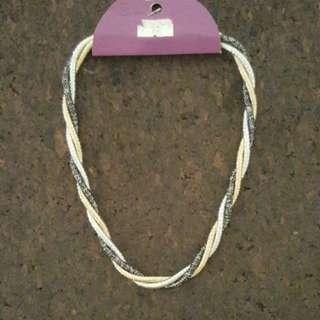 Tri tone necklace BRAND NEW