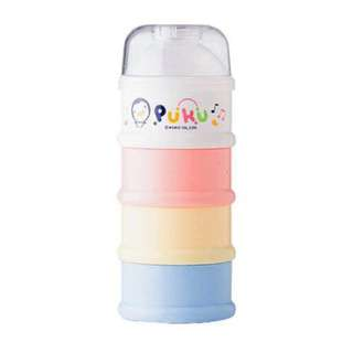 PUKU 藍色企鵝 四層奶粉盒
