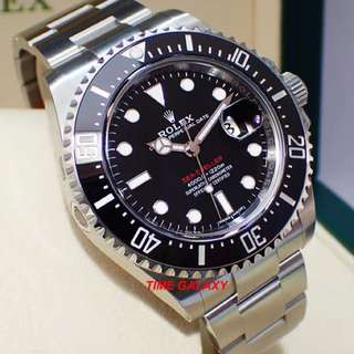SD4000 43mm The New ROLEX SeaDweller 43mm Model 126600. Black Ceramic Bezel Diving Watch.