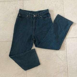 🆕 UK4/6 Vintage Petite Denim Highwaisted Jeans #Huat50Sale