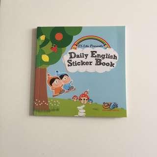 Daily English Aticker Book