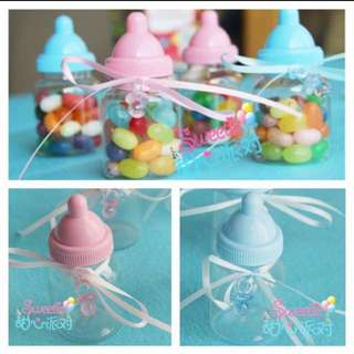 Milk Bottle Candies Container ( ready stock )