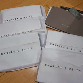 Charles and Keith Long wristlet