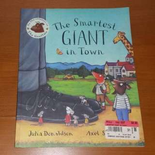 The Smartest Giant In Town Book