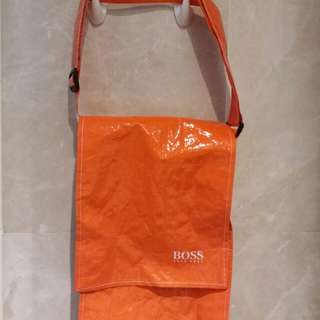 BOSS plastic crossbody bags (orange)橙色塑膠斜揹袋