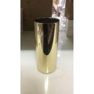 Gold Cylinder Vase for RENT
