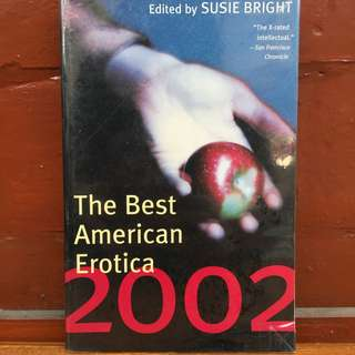 The Best American Erotica 2002 by Susan Bright (REPRICED)