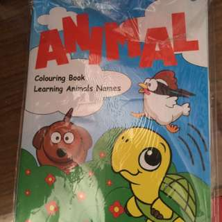 Coloring book (small-size)