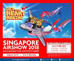 Selling off airshow ticket 2018