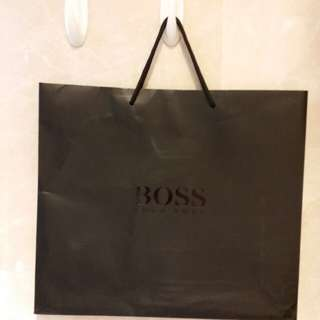 BOSS shopping bag