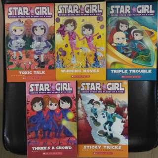 Star Girl by Louise Park Girl Adventure Novel Space Rescue