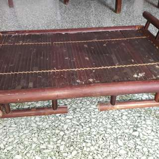 antique bamboo Japanese dining table foldabel /ajiban sayonara he sayonara kamakasi