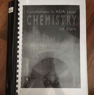 AS/A Level Chemistry Revision Guide 3 in 1