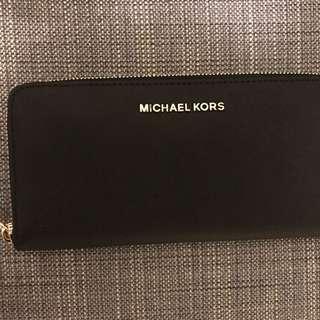 Michael Kors Black Long Wallet