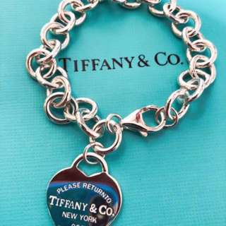 Tiffany & Co return to Tiffany heart tag bracelet