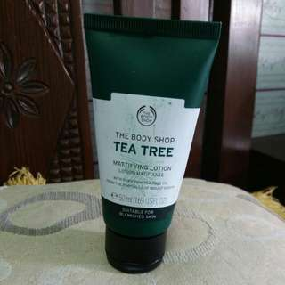 Tbs tea tree mattifying lotion