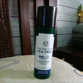Tbs tea tree night lotion