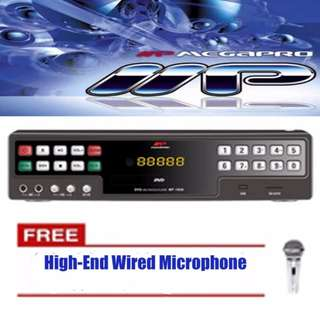 Megapro MP-1000 Karaoke Player (Black) w/ Up to 18K songs with Many MTV's and MP3's (Undergo Product Testing Before Shipped)  | Brand New | Cash On Delivery
