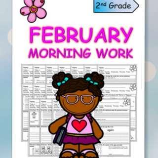 K2 February Worksheet