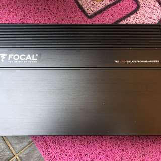 Focal Fpx 2.750 2 channel Amp