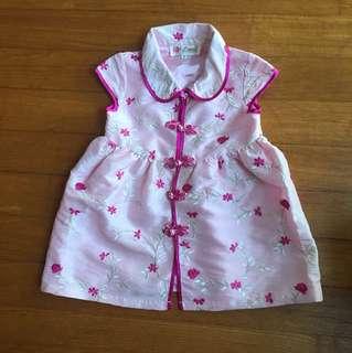 Baby CNY dress/ Cheongsam