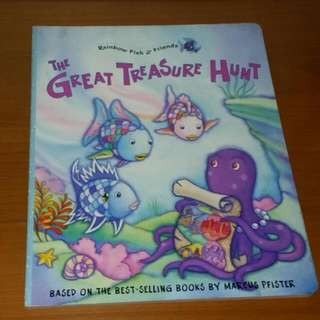 Rainbow Fish & Friends The Great Treasure Hunt Book